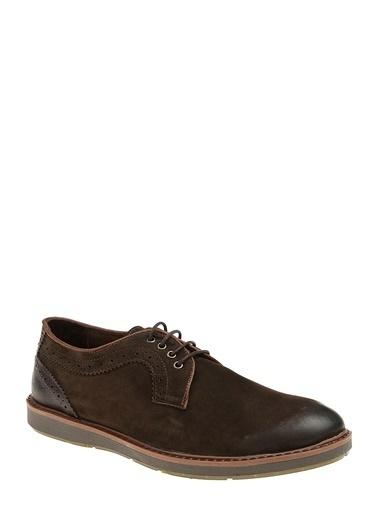 %100 Deri Bağcıklı Ayakkabı-Divarese